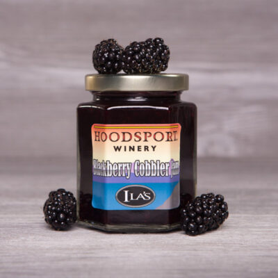 Blackberry Cobbler Jam