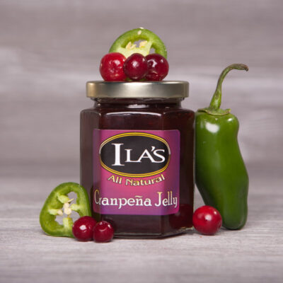 Cranpena Jelly - Cranberry and Jalapeno Jelly