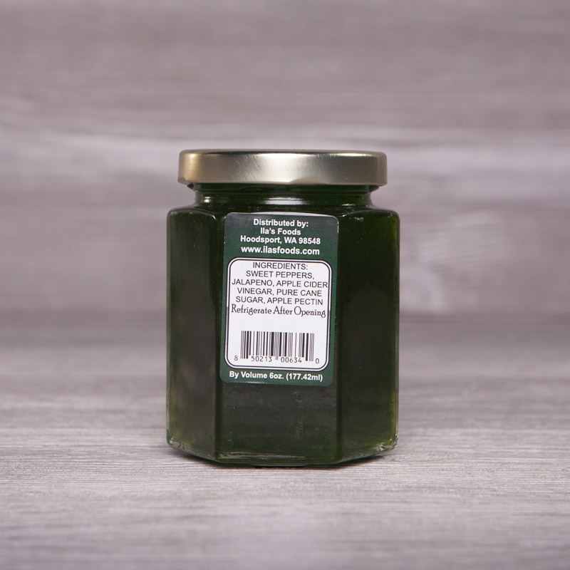Sweet and Zesty Green Pepper Jelly