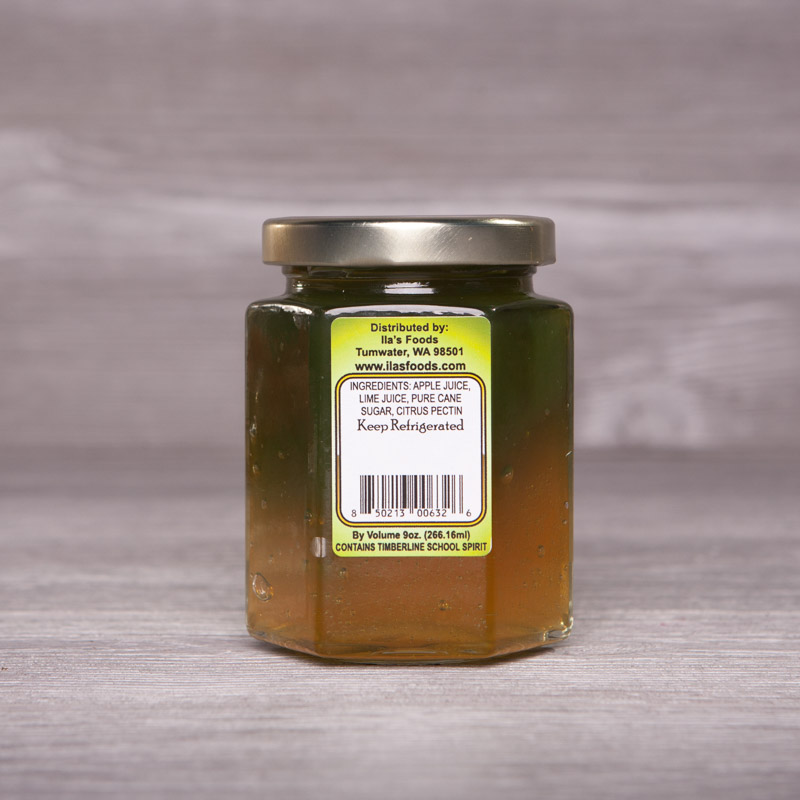Blazer Spirit Jelly - Apple and Lime Jelly